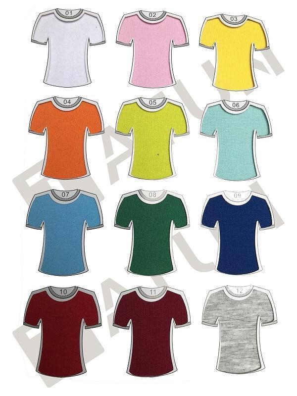 Tatun cung cấp bảng màu áo thun đồng phục đa dạng