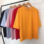 10 cách chọn chất liệu may áo thun trơn sỉ giá rẻ