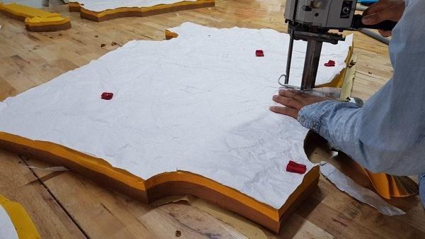Tatun sở hữu hệ thống dây chuyền sản xuất áo thun trơn hiện đại
