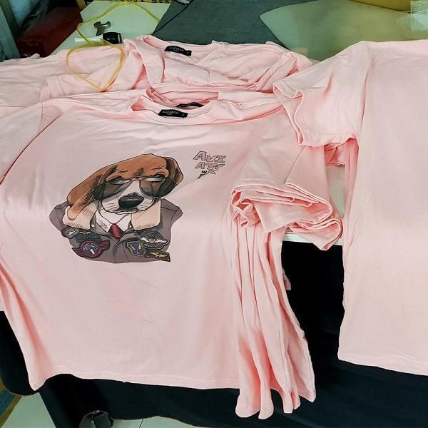 Nhận cung cấp dịch vụ in lụa lên áo cho các shop thời trang