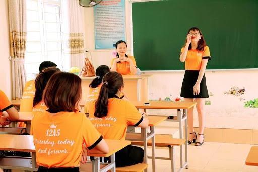 in áo đồng phục lớp
